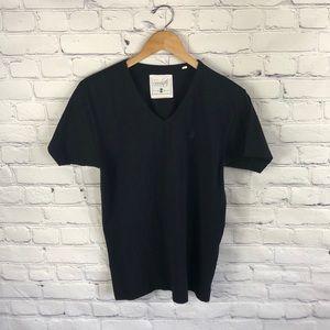 Soul Star Clothing Company Black V Neck Shirt sz M